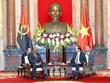 Le président Tran Dai Quang reçoit le ministre angolais des Relations extérieures