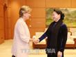 La présidente de l'AN vietnamienne reçoit l'ambassadrice d'Espagne