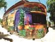 """Quang Ninh a son """"village des fresques"""""""