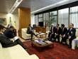 Le vice-président brésilien reçoit le vice-président de l'AN Uong Chu Luu