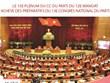 Le 15e Plénum du CC du Parti du 12e mandat achève des préparatifs du 13e Congrès national du Parti