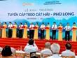 Inauguration du téléphérique disposant du pilier le plus haut du monde à Hai Phong