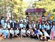 Un camp de jeunes vietnamiens en Ukraine