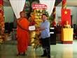 Félicitations aux Khmers à l'occasion de la fête Chol Chnam Thmay à Hau Giang