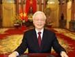 Vœux du Nouvel An lunaire 2020 du SG et président Nguyên Phu Trong