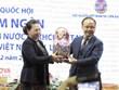 La présidente de l'Assemblée nationale rencontre des Vietnamiens en Russie