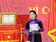 La présidente de l'AN assiste au Congrès d'émulation patriotique des tribunaux populaires