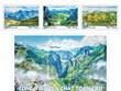 Émission d'une collection de timbres sur trois géoparcs mondiaux au Vietnam
