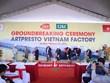 Mise en chantier d'une usine d'emballages à Ha Nam