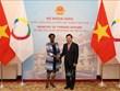 L'Organisation internationale de la Francophonie était partenaire important du Vietnam