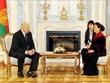La présidente de l'AN Nguyen Thi Kim Ngan rencontre le président biélorusse