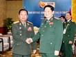Rencontre entre les ministres vietnamien et laotien de la Défense