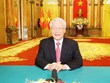Le leader Nguyên Phu Trong adresse un message à la 75e session de l'AGNU