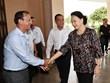 A Can Tho, la présidente de l'AN appelle aux efforts pour atteindre les objectifs fixés