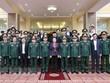 La présidente de l'Assemblée nationale visite la région militaire 4
