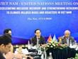 Edification d'un cadre de coopération au développement Vietnam-ONU pour la période 2022-2026