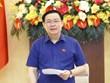 Le président de l'AN félicite l'Université d'économie de Ho Chi Minh-Ville pour son anniversaire