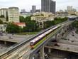Premiers essais pour la section surélevée de la ligne de métro Nhon – gare de Hanoï