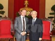 Le leader du PCV reçoit l'ambassadeur belge Bruno Angelet