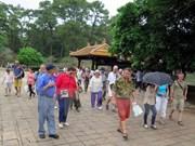 Thua Thien-Hue : le nombre de touristes étrangers en hausse de 2,44%