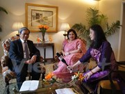 Les relations Vietnam-Inde se développent heureusement