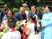 Le président bangladais termine sa visite d'Etat au Vietnam