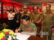 Laos-VN : expo sur la coopération entre les polices