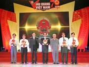 """""""Gloire du Vietnam"""" honore dix individus et collectifs"""