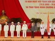 Commémoration de la 70ème journée traditionnelle de la Police populaire