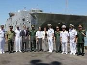 Deux navires de la Marine américaine à Dà Nang