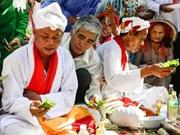 Ninh Thuân : la cérémonie de sollicitation de la tranquillité des Cham