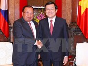 Le président Truong Tan Sang plaide pour les liens spéciaux Vietnam-Laos