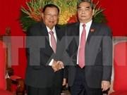 Le Vietnam souhaite consolider l'amitié et la solidarité avec le Laos