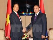 Echange d'amitié à l'occasion des fêtes nationales vietnamienne et arménienne
