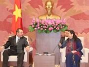La vice-présidente de l'AN Tong Thi Phong reçoit une délégation cubaine