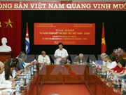 Colloque sur les 55 ans de solidarité et de coopération Vietnam-Cuba