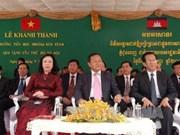 Le Cambodge inaugure l'école financée par la ville de Hanoi