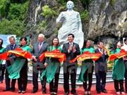 Un buste de Guerman Titov à Quang Ninh
