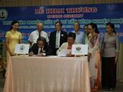 Inauguration d'un centre sur l'agriculture tropicale