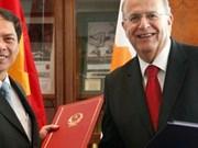 Renforcement de la coopération avec Chypre