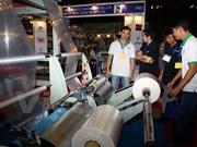 Ouverture de la 14e exposition internationale de l'industrie du plastique et du caoutchouc