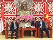 Le PM Nguyen Tan Dung reçoit le ministre singapourien du Commerce et de l'Industrie
