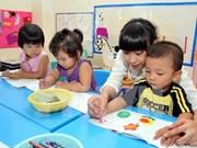 La Belgique soutient l'éducation maternelle de Quang Nam