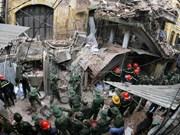 Hanoi : une maison ancienne s'effondre au centre-ville, deux morts