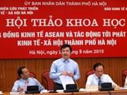 Hanoi et les effets de la création de la Communauté économique de l'ASEAN