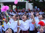"""Ho Chi Minh-Ville et l'initiative """"Ville amie des enfants"""""""