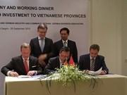Renforcement la connexion entre localités vietnamiennes et entreprises allemandes