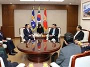 Soldats portés disparus : échange d'informations avec la R. de Corée