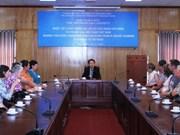 Une délégation du Club des forces d'amitié de la ville de Mount Gambier (Australie) au Vietnam