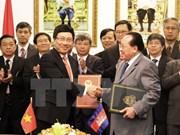 La 14e session du Comité mixte Vietnam-Cambodge